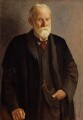 Sir George Howard Darwin, by Mark Gertler - NPG 1999