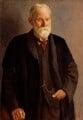 Sir George Howard Darwin, by Mark Gertler - NPG 1999