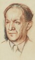 Walter de la Mare, by Sir William Rothenstein - NPG 4142