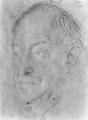 Walter de la Mare, by Augustus Edwin John - NPG 4473