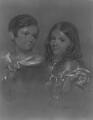 Edward Denison; Louisa Evelyn Denison, by John Hayter - NPG 4480