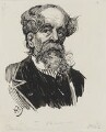 Charles Dickens, by Harry Furniss - NPG 3446