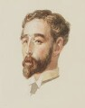 Harold Lee-Dillon, 17th Viscount Dillon, by Sir George Scharf - NPG 4834