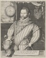 Sir Francis Drake, attributed to Jodocus Hondius, completed by  George Vertue - NPG 3905