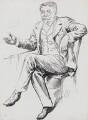 George Du Maurier, by Harry Furniss - NPG 3569