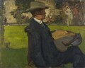 Sir Alfred Edward East, by Sir Frank Brangwyn - NPG 4826