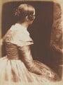 Elizabeth (née Rigby), Lady Eastlake, by David Octavius Hill, and  Robert Adamson - NPG P6(125)