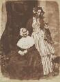 Anne Rigby (née Palgrave); Elizabeth, Lady Eastlake (née Rigby), by David Octavius Hill, and  Robert Adamson - NPG P6(134)