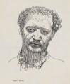 Jacob Epstein, by Powys Evans - NPG 4397