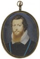 Robert Devereux, 2nd Earl of Essex, by Isaac Oliver - NPG 4966