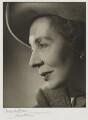 Dame Edith Evans (Dame Edith Mary Booth), by Angus McBean - NPG P64