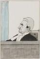 Sir Samuel Thomas Evans, by Charles Pascoe Hawkes - NPG 3991