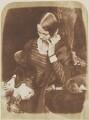 Harriet Farnie; Annie Farnie, by David Octavius Hill, and  Robert Adamson - NPG P6(162)