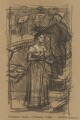 Kathleen Ferrier; Bruno Walter, by Bernard Dunstan - NPG 5040(1)