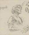 Kathleen Ferrier, by Bernard Dunstan - NPG 5040(7)