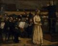 Kathleen Ferrier at a Concert, by Bernard Dunstan - NPG 5043