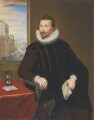 Sir John Finet, copy by George Perfect Harding, after  Unknown artist - NPG 2404