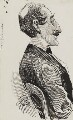 Percy Fitzgerald, by Harry Furniss - NPG 3571