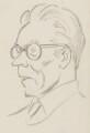 Michael Foot, by Sir David Low - NPG 4529(130)