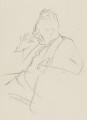 Michael Foot, by Sir David Low - NPG 4529(131)