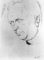 Ford Madox Ford, by Alfred Aaron Wolmark - NPG 4454