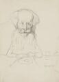 Frederick James Furnivall, by Sir William Rothenstein - NPG 3172