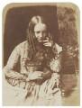 Justine Gallie (née Monro), by David Octavius Hill, and  Robert Adamson - NPG P6(110)