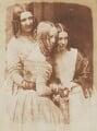 Jane Webster (née Binny); Justine Gallie (née Monro); Mrs Marrable (née Binny), by David Octavius Hill, and  Robert Adamson - NPG P6(117)