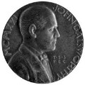 John Galsworthy, by Theodore Spicer-Simson - NPG 3649