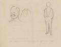 John Galsworthy, by Sir David Low - NPG 4529(134)