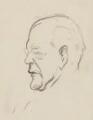John Galsworthy, by Sir David Low - NPG 4529(140)
