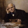 Sir Francis Galton, by Charles Wellington Furse - NPG 3916