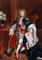 King George I, studio of Sir Godfrey Kneller, Bt - NPG 544
