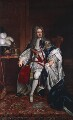 King George I, replica by Sir Godfrey Kneller, Bt - NPG 5174