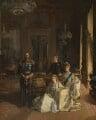 The Royal Family at Buckingham Palace, 1913, by Sir John Lavery - NPG 1745