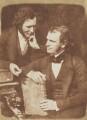 Mr Moir; John Gibson, by David Octavius Hill, and  Robert Adamson - NPG P6(154)