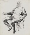 Sir William Schwenck Gilbert, by Harry Furniss - NPG 3453