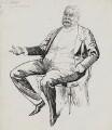 Sir William Schwenck Gilbert, by Harry Furniss - NPG 3453
