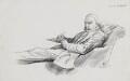 Sir William Schwenck Gilbert, by Harry Furniss - NPG 3574