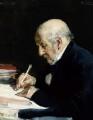 William Ewart Gladstone, by Alfred Edward Emslie - NPG 3898