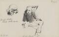 William Ewart Gladstone; Charles Arthur Russell, Baron Russell of Killowen, by Sydney Prior Hall - NPG 2318
