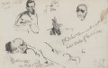 William Ewart Gladstone; Timothy Michael Healy, by Sydney Prior Hall - NPG 2319