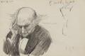 William Ewart Gladstone, by Sydney Prior Hall - NPG 2324