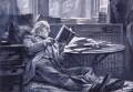 William Ewart Gladstone, by Sydney Prior Hall - NPG 2227