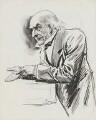 William Ewart Gladstone, by Harry Furniss - NPG 3363