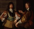 Mountjoy Blount, 1st Earl of Newport; George Goring, Baron Goring, after Sir Anthony van Dyck - NPG 762