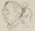 Sir Edmund William Gosse, by Sir David Low - NPG 4529(141)