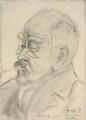 Sir Francis Carruthers Gould ('F.C.G.'), by Edmond Xavier Kapp - NPG 3315