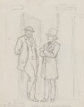 Sir Francis Grant; Edwin Landseer, by Charles Bell Birch - NPG 2521