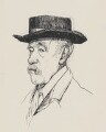 Walter Greaves, by Powys Evans - NPG 4394